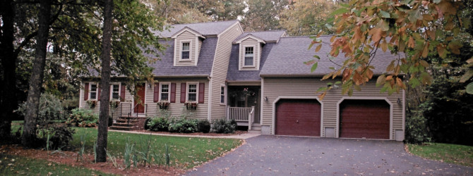 Gambrel addition Before/After